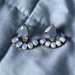 EUC Stella and Dot ear jackets 2 in 1